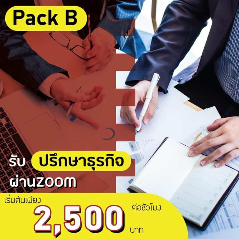 รับปรึกษาธุรกิจ Pack B