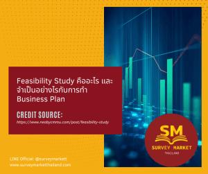 Feasibility Study คืออะไร และจำเป็นอย่างไรกับการทำ Business Plan